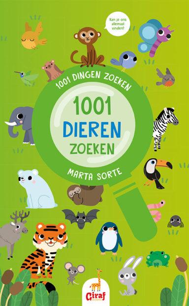 Cover 1001 dieren zoeken
