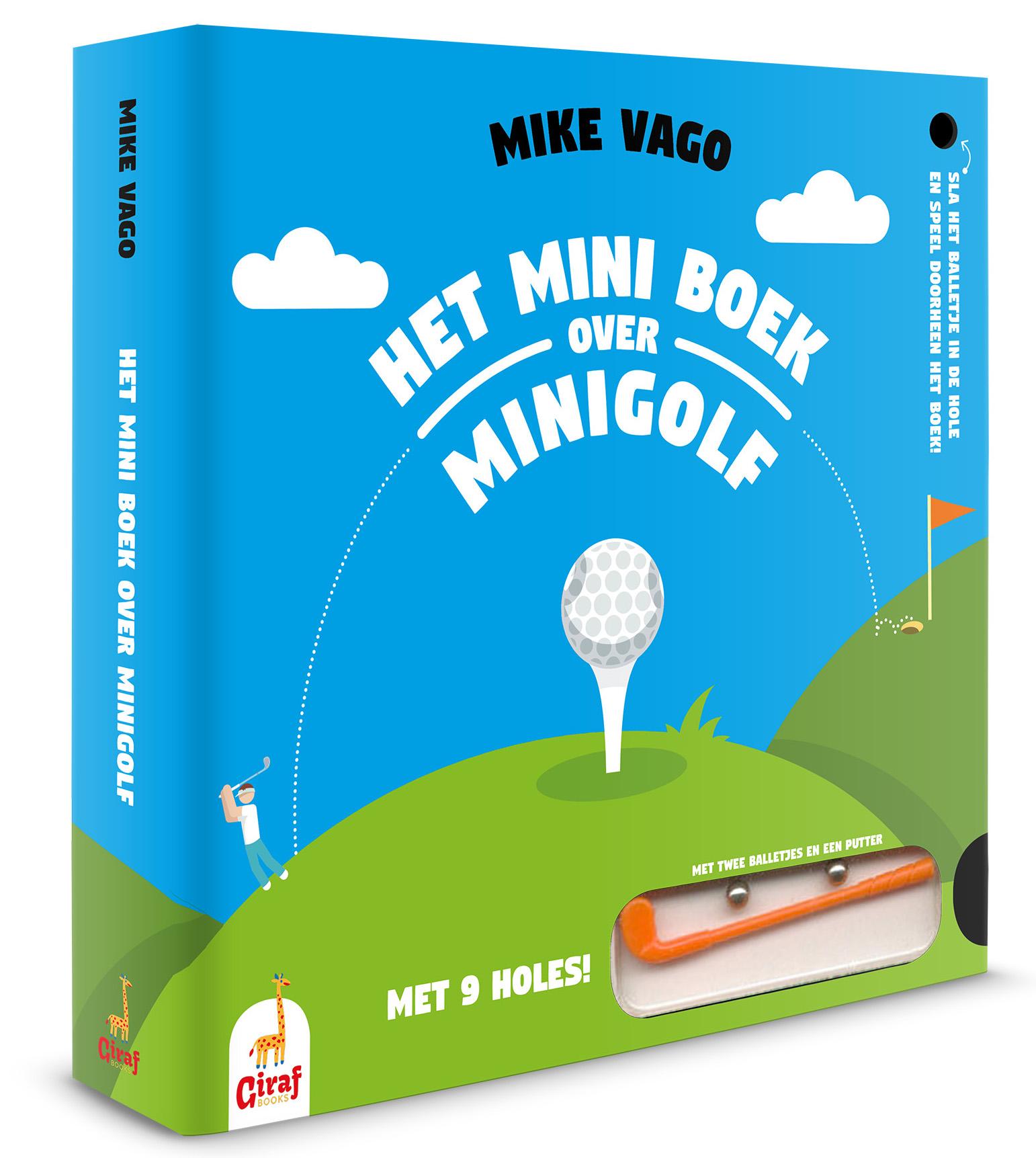 Cover miniboek over minigolf