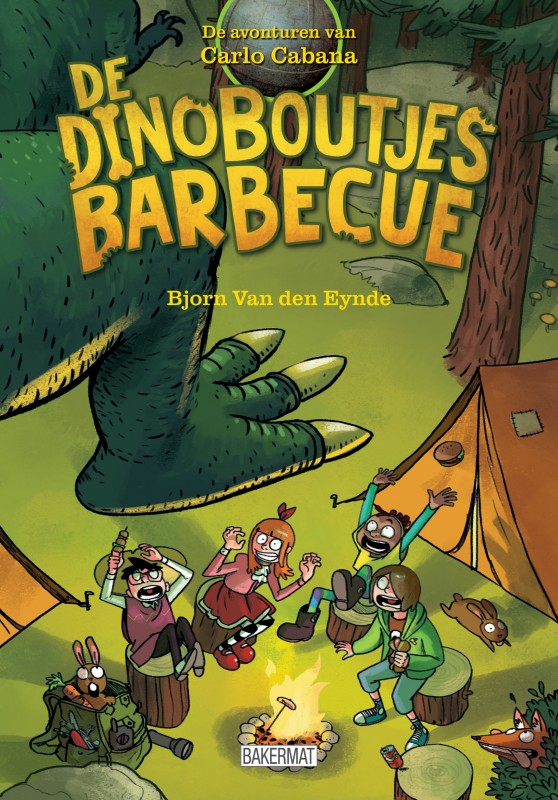 Carlo Cabana 4 - De dinoboutjes barbecue