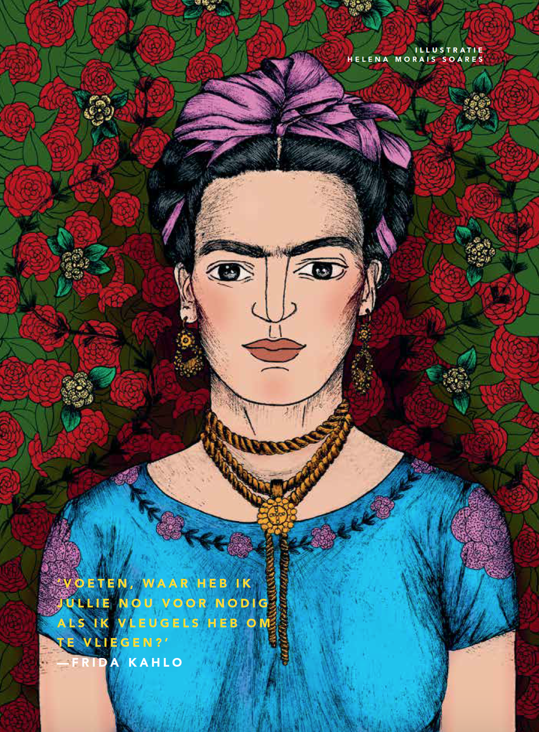 Frida Kahlo afbeelding