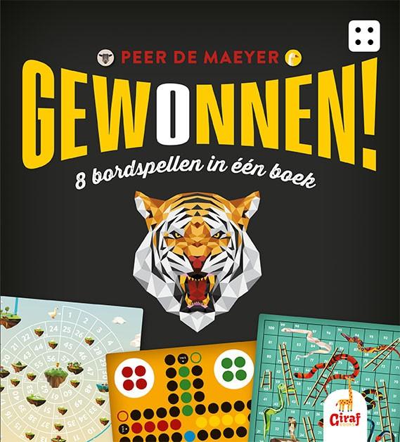 Cover Gewonnen - 8 bordspellen in één boek
