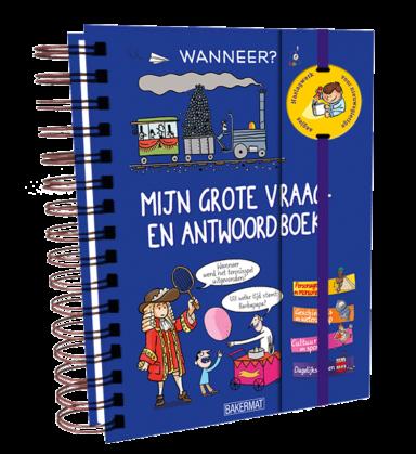 Cover Grote vraag- en antwoordboek: Wanneer?
