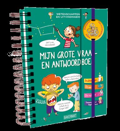Cover grote vraag- en antwoordenboek: wetenschappen en uitvindingen