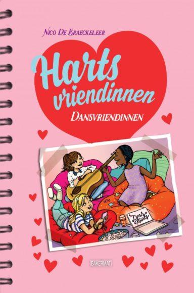 Cover Hartsvriendinnen 1: Dansvriendinnen