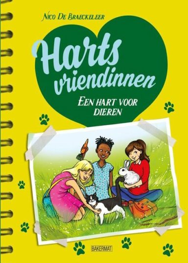 Cover Hartsvriendinnen 2 - Een hart voor dieren
