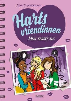 Cover Hartsvriendinnen 3: Mijn eerste kus