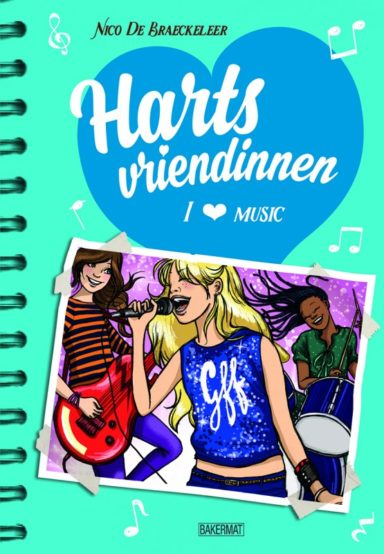 Cover Hartsvriendinnen 5: I love music