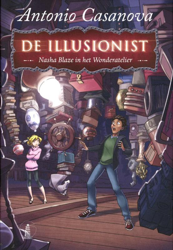 De Illusionist - Nasha Blaze en het Wonderatelier - Boek 2