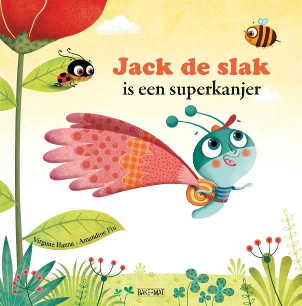 Cover Jack de slak is een superkanjer