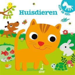 Cover Kijk- en voelboek Huisdieren