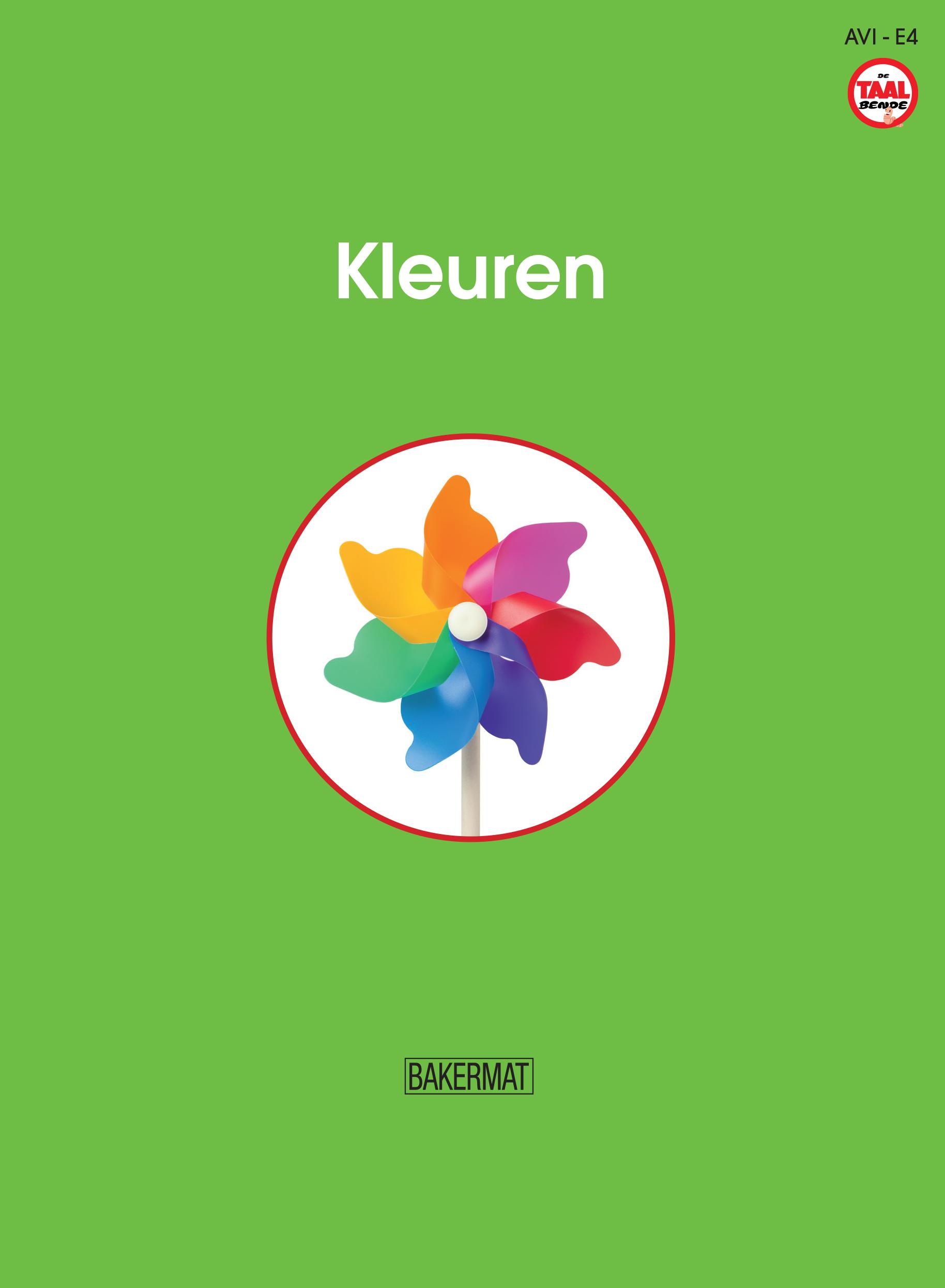 Cover kleuren (taalbende informatief)