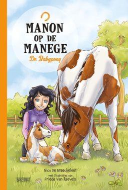 Cover Manon op de manege 3 - De babypony