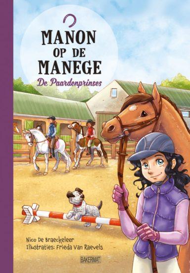 Cover Manon op de manege - De paardenprinses