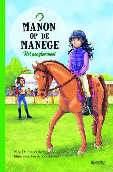 Cover Manon op de manege 2 - Het ponytoernooi