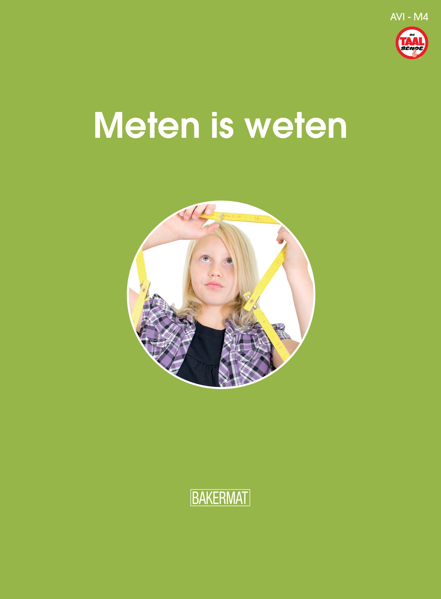cover meten is weten (taalbende informatief)