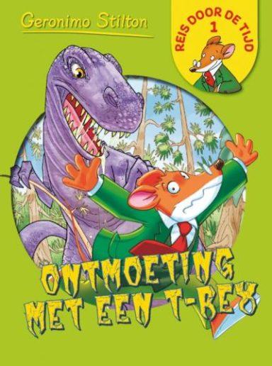 Cover Reis door de tijd 1: Ontmoeting met een t-rex