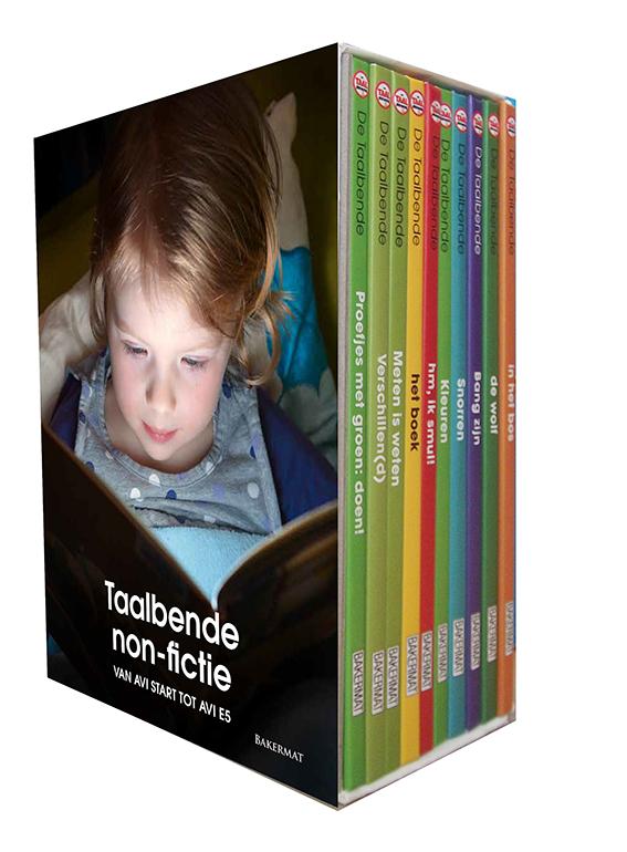 De Taalbende Boekenbox: non-fictie boekjes om te leren lezen