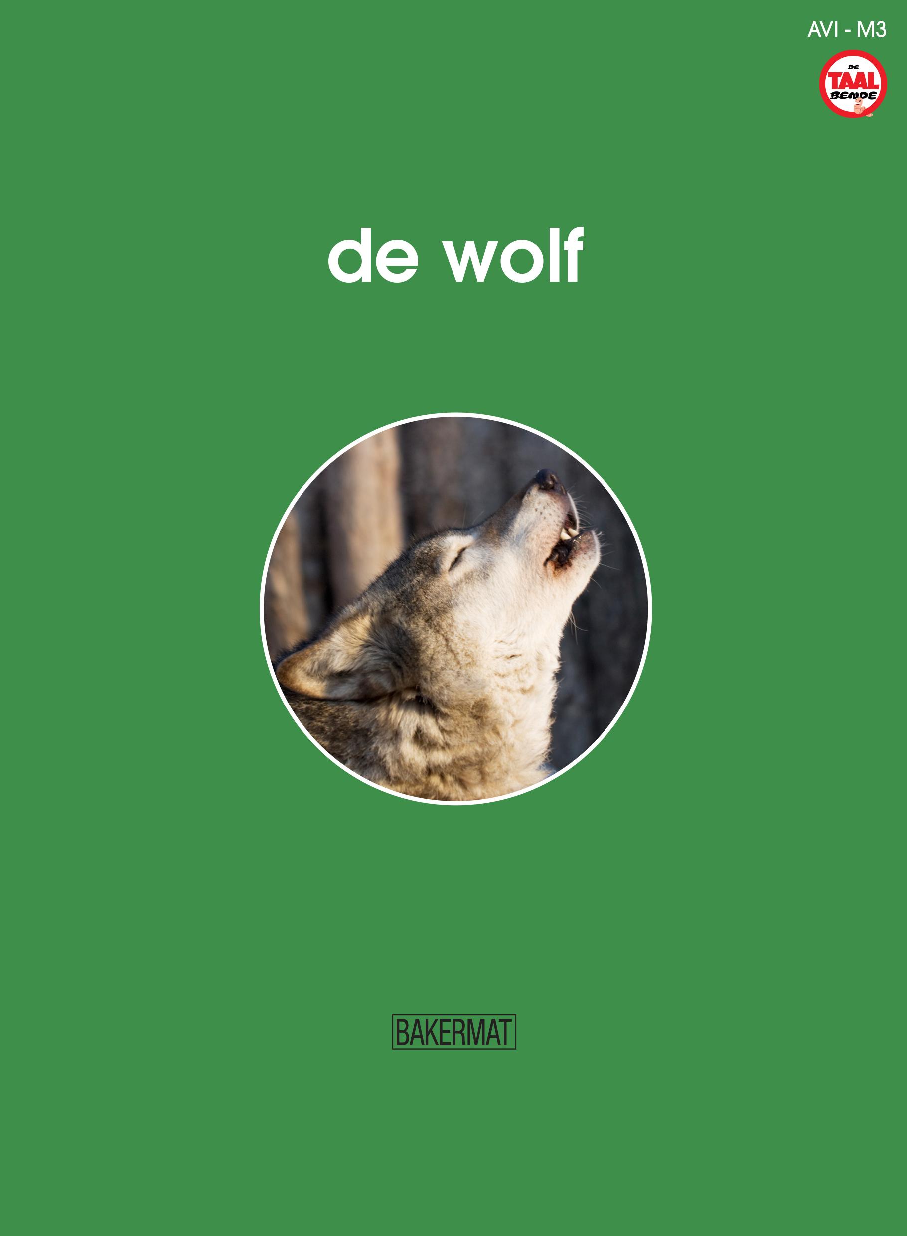 Cover de wolf (taalbende informatief)