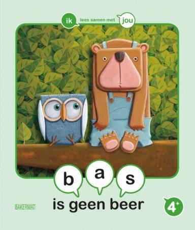 Cover Samenleesboek Bas is geen beer