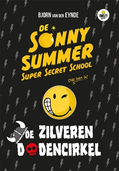 Cover - De Sonny Summer super secret school - de dodencirkel