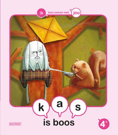 Cover Samenleesboekje - Kas is boos