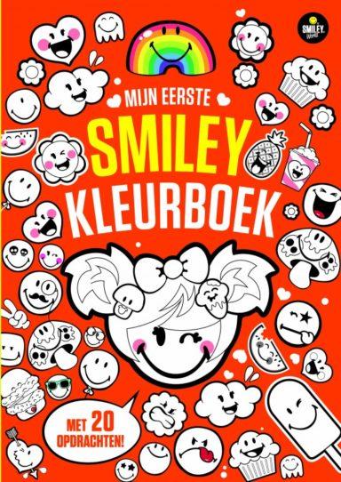 Cover - mijn eerste smiley kleurboek