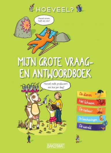 Cover - het grote vraag- en antwoordboek: hoeveel?