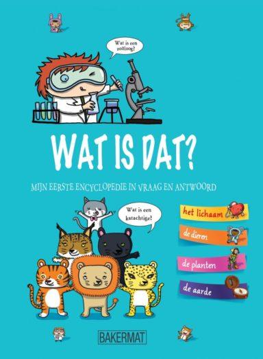 Cover - het grote vraag- en antwoordboek: Wat is dat?