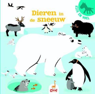 Cover - Dieren in de sneeuw
