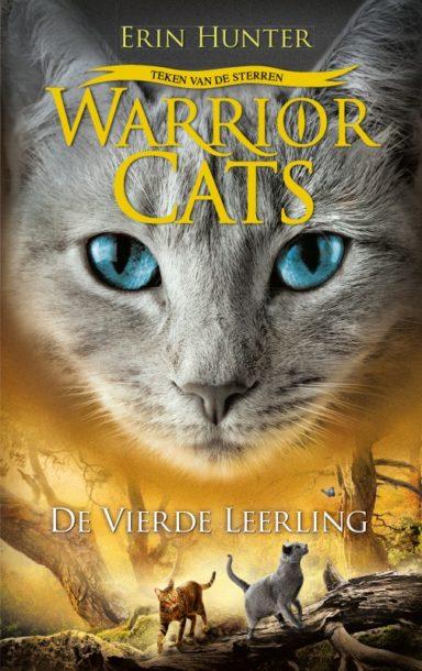 Cover - Warrior Cats - Teken van de sterren, boek 1: de vierde leerling