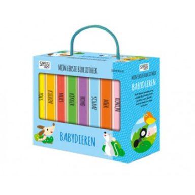 Sassi - Mijn eerste bibliotheek: dieren (box)