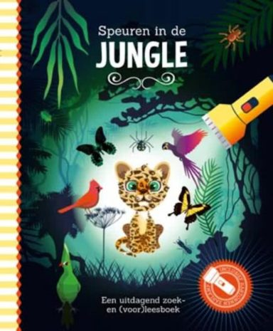 cover - speuren in de jungle