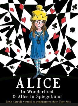 cover - alice in wonderland en alice in spiegelland