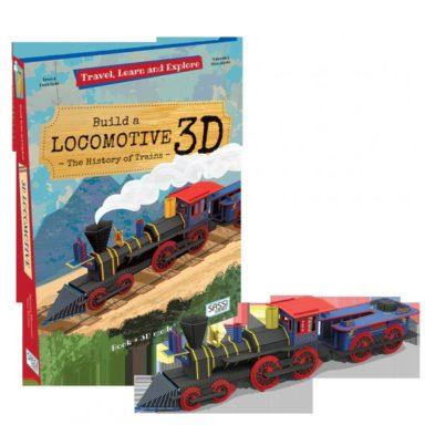 cover - bouw een 3d-locomotief