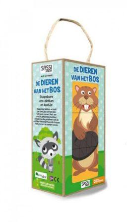 cover - de dieren van het bos