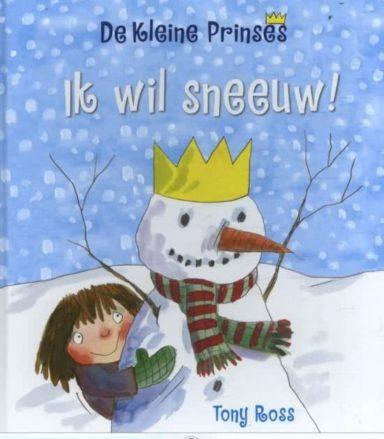 cover - de kleine prinses ik wil sneeuw