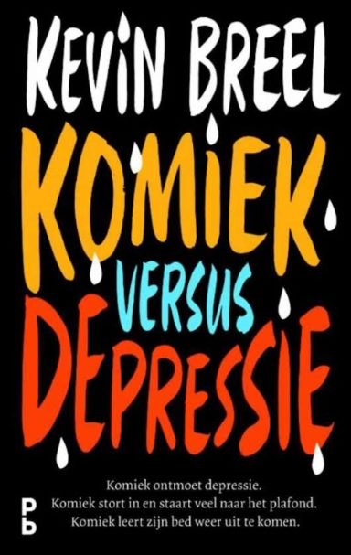 cover - komiek vs depressie