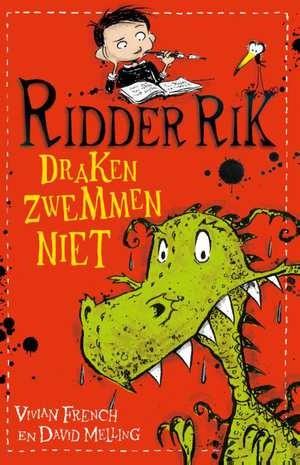 cover - ridder rik draken zwemmen niet