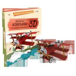 cover - vliegtuig 3d