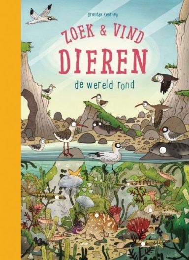 cover - zoek en vind dieren de wereld rond