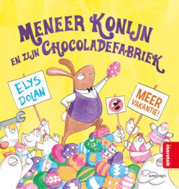 Cover Meneer Konijn en zijn chocoladefabriek