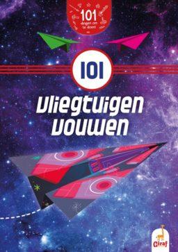 101 vliegtuigen vouwen cover