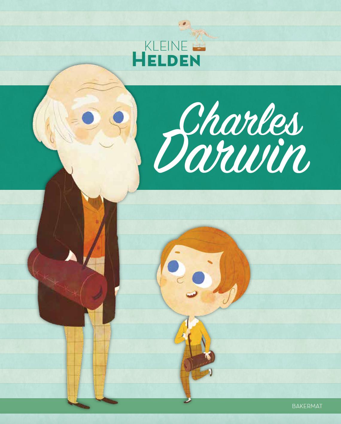 Charles Darwin cover