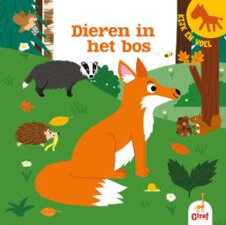 Kijk en voel - Dieren in het bos cover