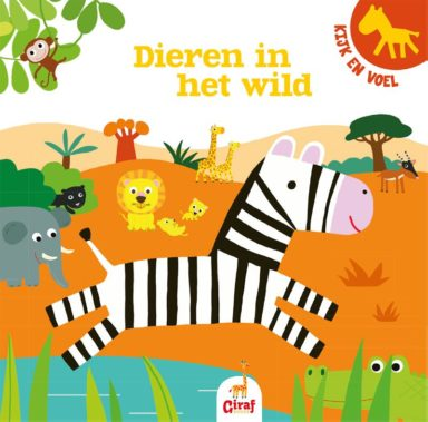 Kijk en voel dieren in het wild cover