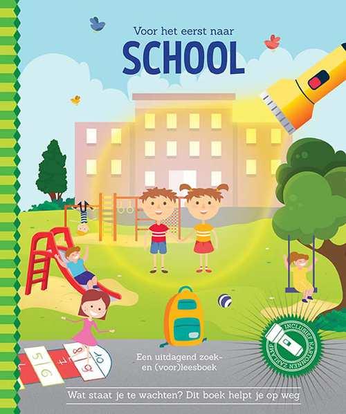 Speuren voor het eerst naar school cover - De leukste (en speciaalste) zoekboeken voor kinderen!