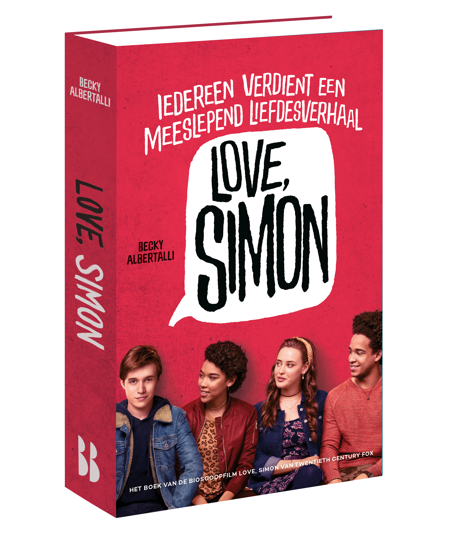 Love Simon Trailer >> Love, Simon - Baeckens Books