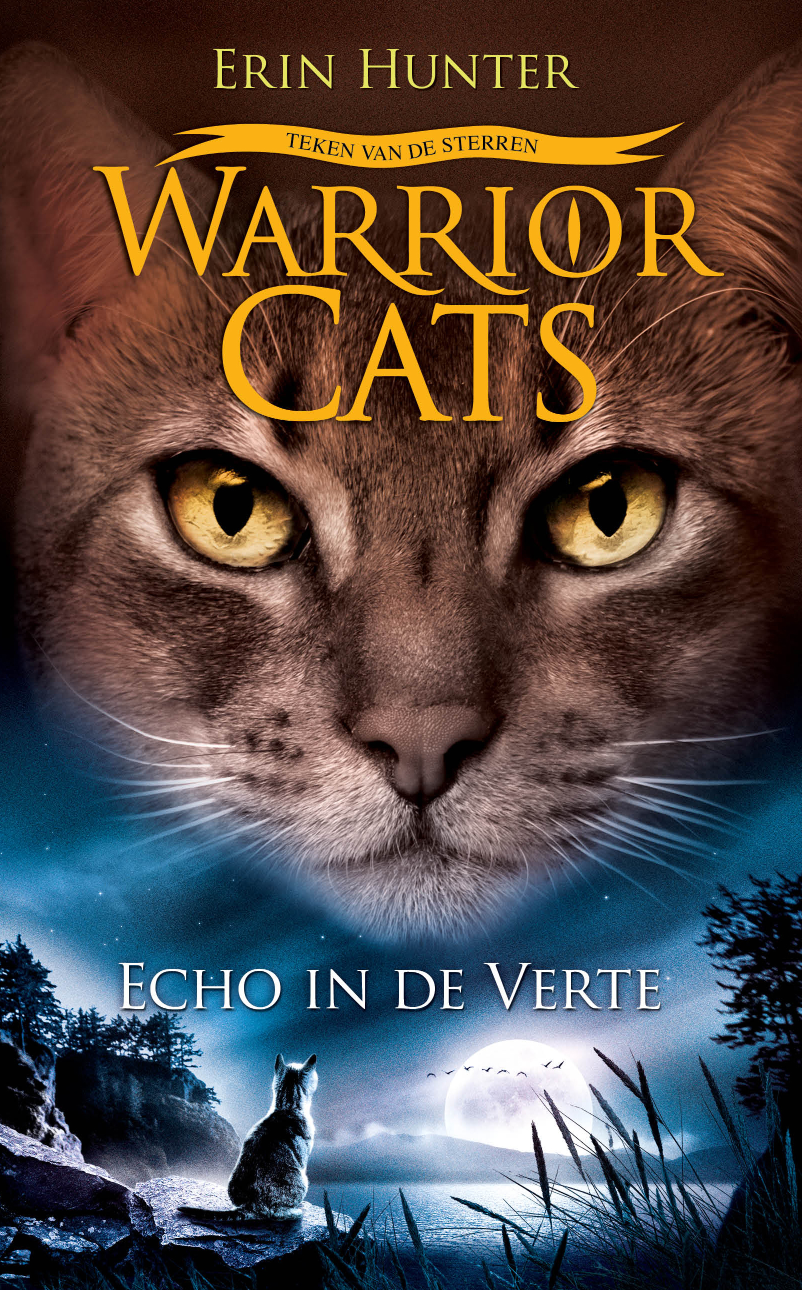 Warrior Cats Echo in de verte cover