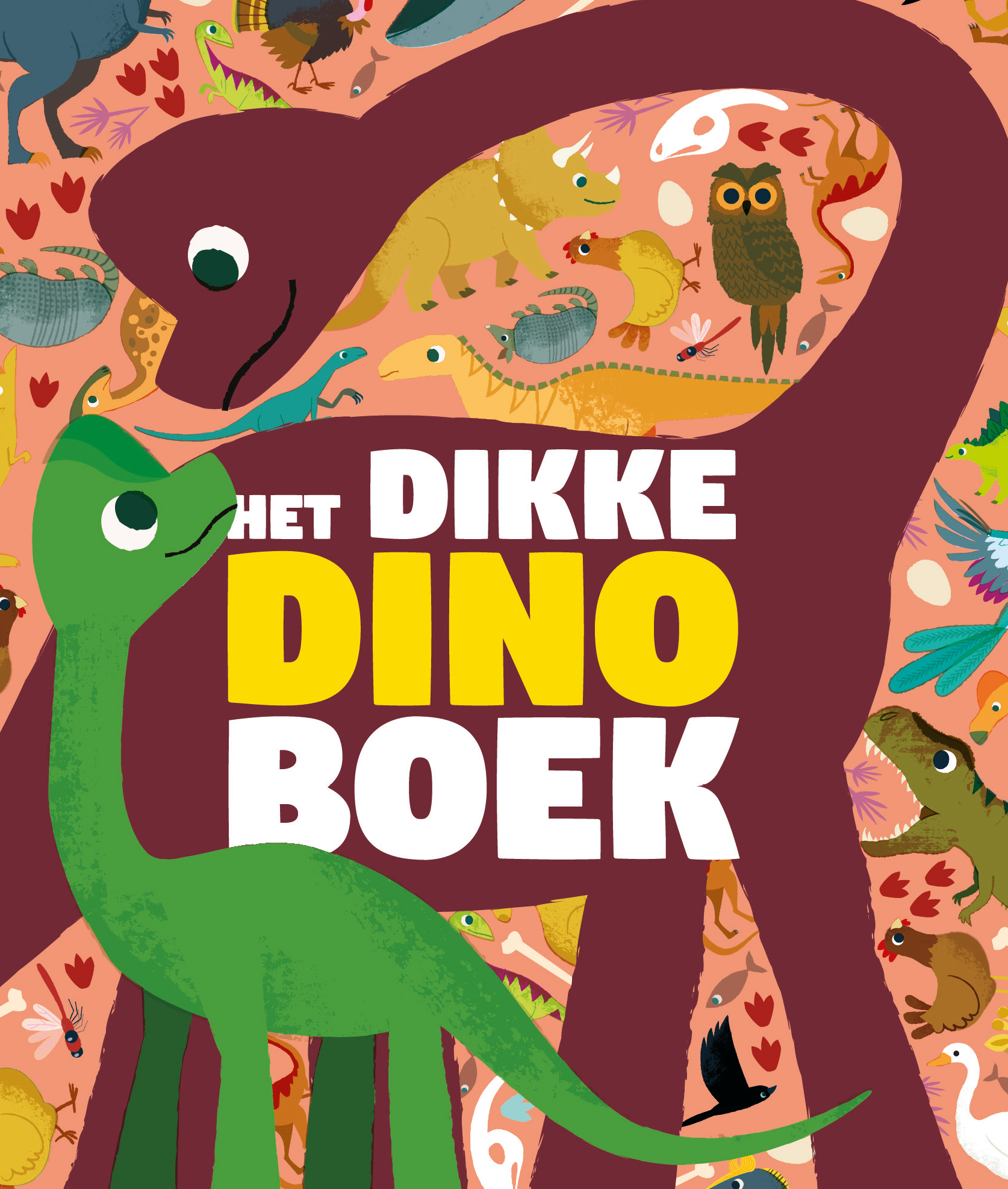 Het dikke Dino boek cover