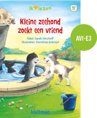 Kleine zeehond zoekt een vriend cover
